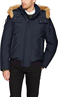 Men's Boerum Insulated Bomber Jacket with Removable Fur Hood