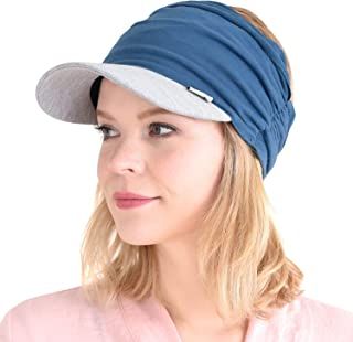 Womens Sports Sun Visor Hat - SPF UV Protection Japanese Design Mens Headband Peak Cap for Men & Women Tennis Jogging Runn...