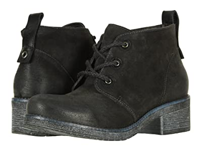 Naot Love (Oily Midnight Suede/Black Raven Leather) Women