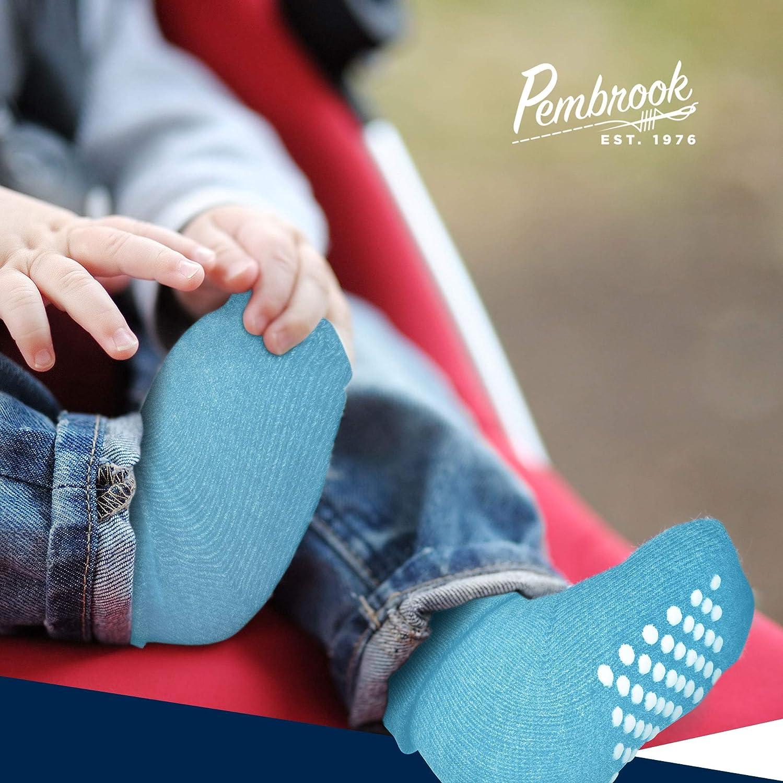 Toddler Socks Non Slip – Kids Grip Socks for Baby Boys & Girls, 6 Pairs