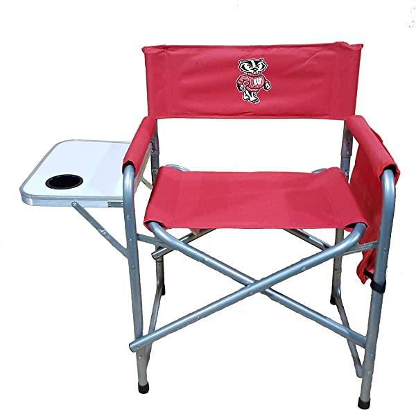 Rivalry NCAA Wisconsin Badgers Directors Chair Red One Size