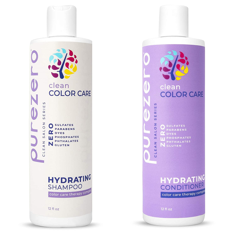 Purezero Clean Color Fashion Care Hydrating Shampoo Conditioner - Set Challenge the lowest price