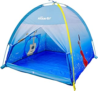 NARMAY Play Tent Music World Dome Tent for Kids Indoor / Outdoor Fun-122 x 122 x 102 cm