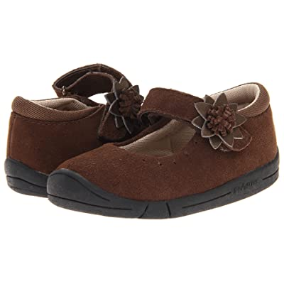 Jumping Jacks Kids Bella (Toddler) (Chocolate Brown Suede) Girls Shoes