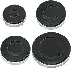 Spares2go grabadora de Gas diseño de corona de fuego gorra para hornos Rangemaster tapa para fuegos de cocina (tamaño pequeño, 2 medio y tamaño grande)