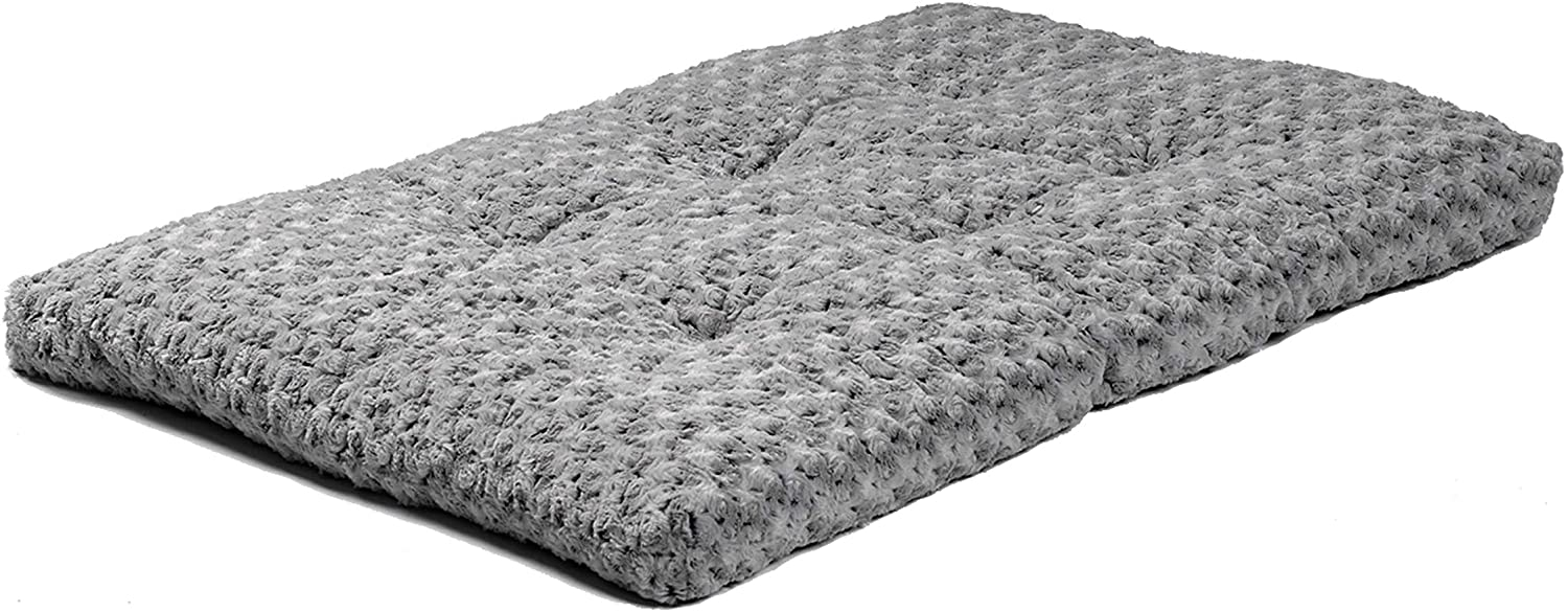 MidWest Homes for Pets Deluxe Dog Beds | Super Plush Dog & Cat Beds Ideal for Dog Crates | Machine Wash & Dryer Friendly, 1-Year Warranty : Pet Bed Mats : Pet Supplies