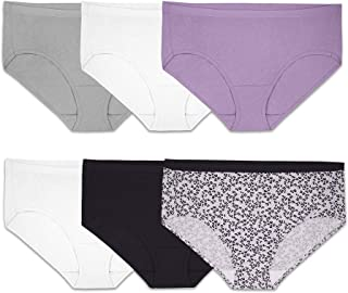 Women's Tag Free Cotton Hipster Panties (Regular & Plus...