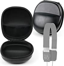 DURAGADGET Classic Black Rigid Shell Protective Headphone Storage Case Suitable for Bang & Olufsen (B&O) Play Form 2 & Form 2i Stereo Headphones | BeoPlay H8