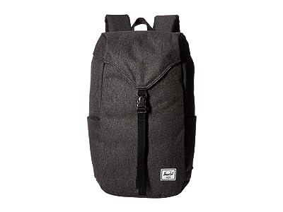 Herschel Supply Co. Thompson (Black Crosshatch) Backpack Bags
