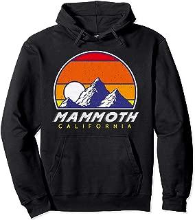 Mammoth California - USA Ski Resort 1980s Retro Hoodie