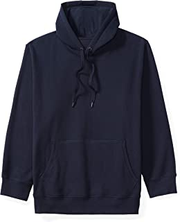 Amazon Essentials Men's Big & Tall Hooded Fleece Sweatshirt fit by DXL