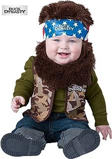 Duck Dynasty Baby Costume Willie (Brown Beard & Bandana) - Infant Large