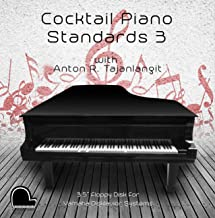 Cocktail Piano Standards 3 - Yamaha Disklavier Compatible Player Piano Music on 3.5