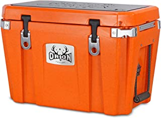 Orion Heavy Duty Premium Cooler (45 Quart, Ember), Durable Insulated Outdoor Ice Chest for Maximum Cold Retention - Portable, Bear Resistant, and Long Lasting, Great for Hunting, Fishing, Camping