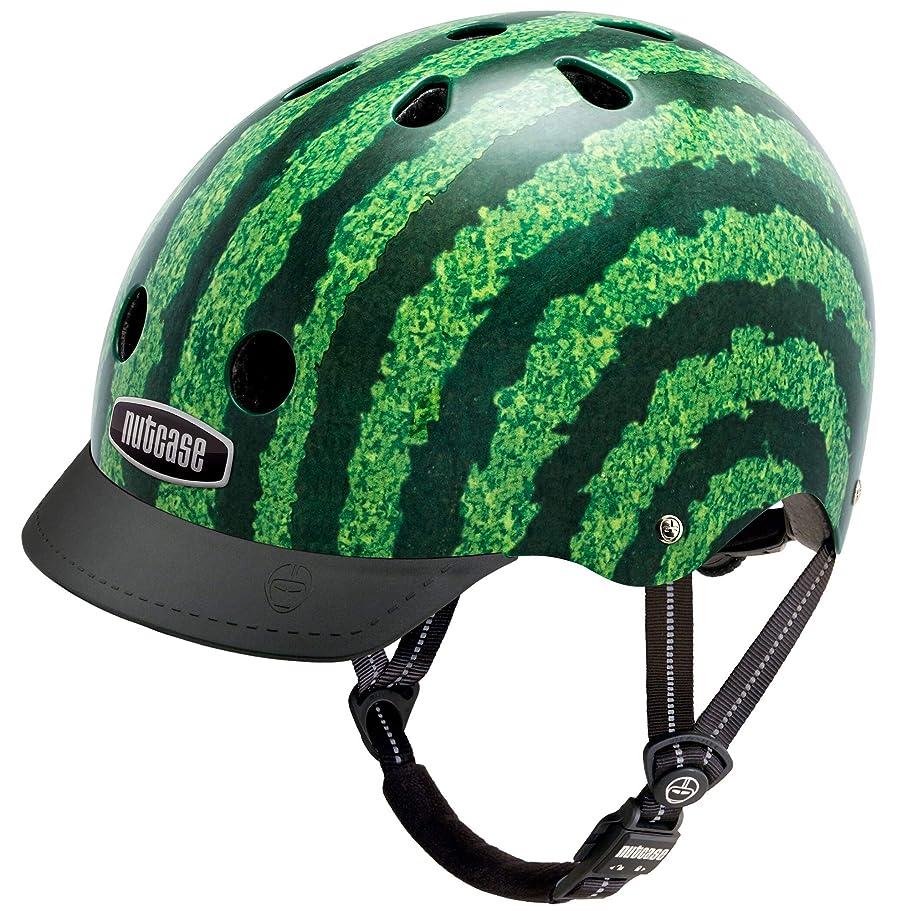 とティーム順応性別々にNutcase(ナットケース) Watermelon ヘルメット / Sサイズ:52cm56cm