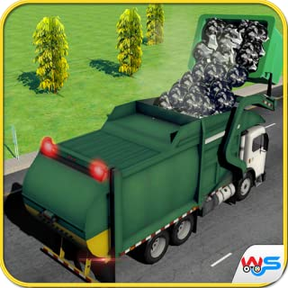 Metro City Garbage Truck Driving Simulator Game 2018: Dump truck Parking Games For Free