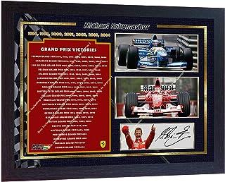 Michael Schumacher Photo d/édicac/ée encadr/ée Ferrari