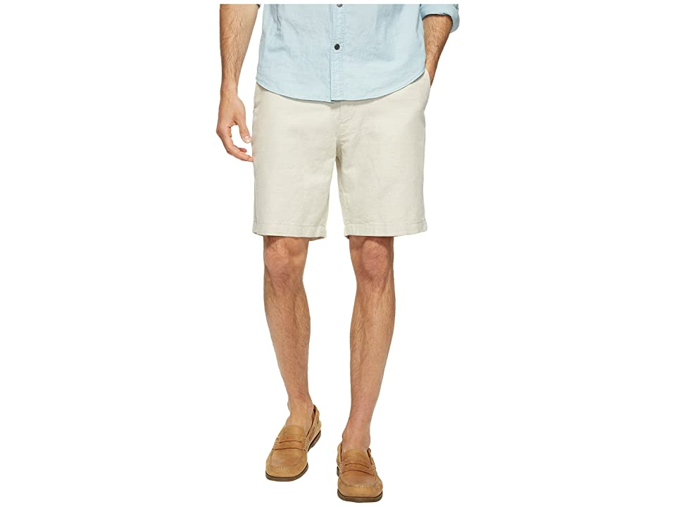 Nautica Linen Cotton Shorts (Wheat Flax) Men