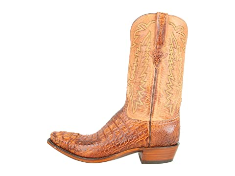 Clearance Manchester Lucchese L1331 Tan Burnished Mad Dog Hornback/Tan Burnished Mad Dog Goat Latest Discount Clearance New Fake Outlet Perfect cb9AY