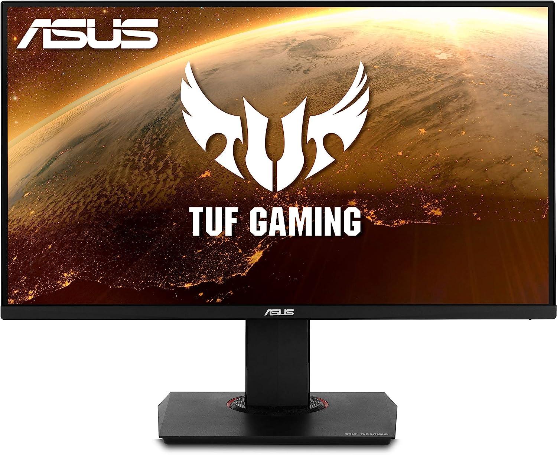 "ASUS TUF Gaming VG289Q 28"" HDR Gaming Monitor 4K (3840 x 2160) IPS FreeSync Eye Care DisplayPort Dual HDMI HDR 10,BLACK"
