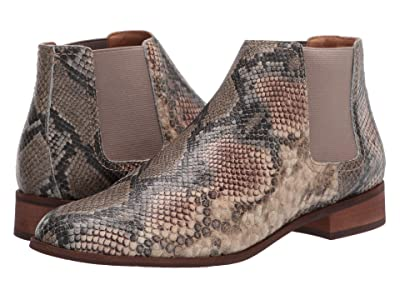 FRYE AND CO. Mila Chelsea (Taupe Snake Embossed Leather) Women