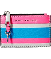 Marc Jacobs - The Grind Color Blocked Top Zip Multi Wallet