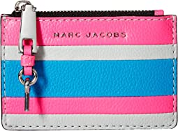 The Grind Color Blocked Top Zip Multi Wallet
