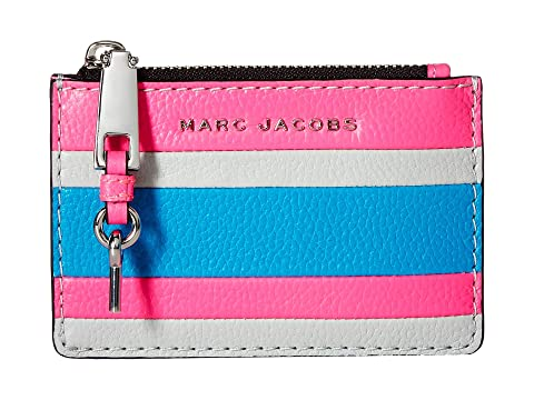 Marc Jacobs The Grind Color Blocked Top Zip Multi Wallet