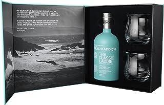 Bruichladdich Classic Laddie Scottish Barley Mit Exklusiver Geschenkpackung  2 Tumbler Single Malt Whisky 1 X 0.7 L