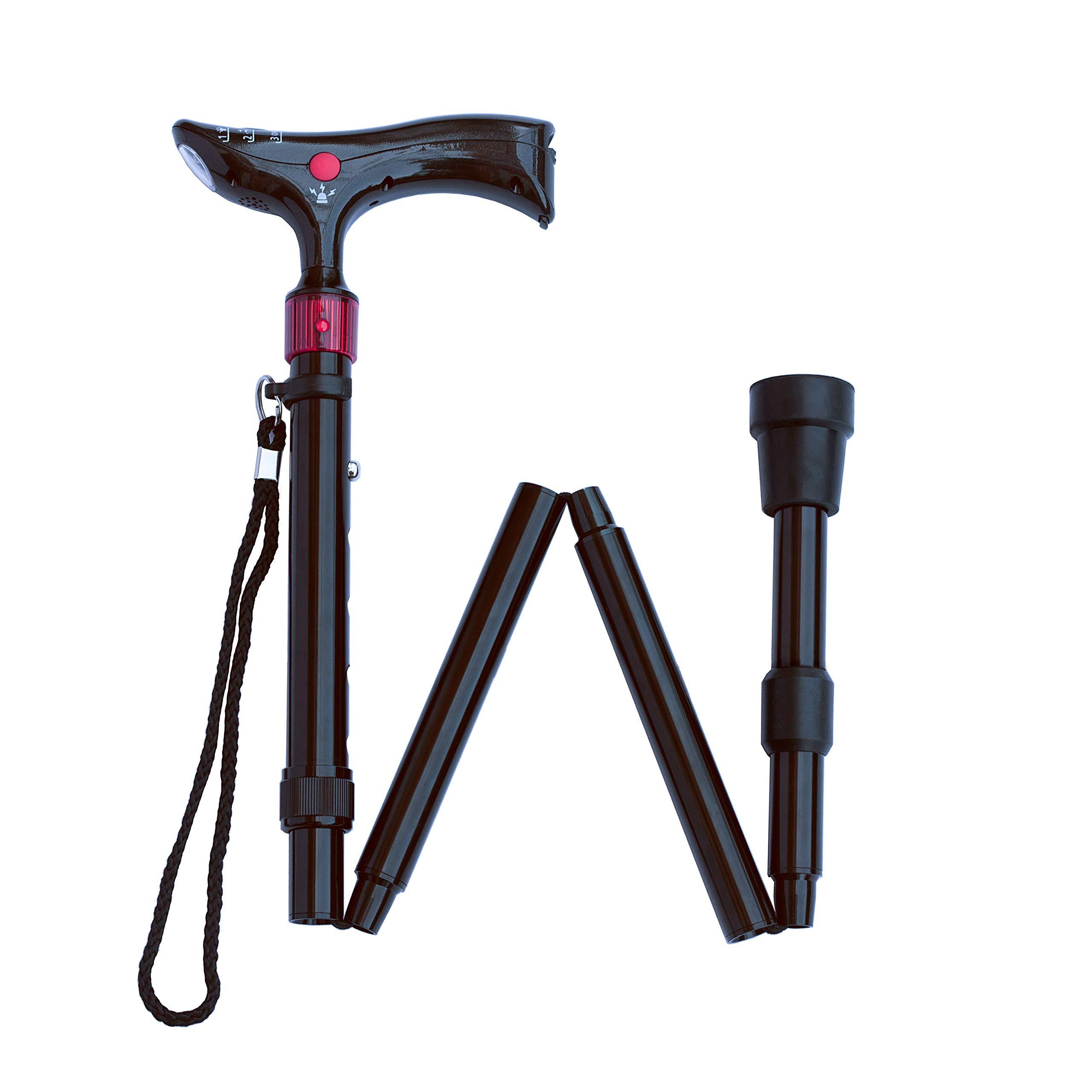 Lightweight Walking Adjustable Flashlight Ergonomics