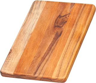 Teak Cutting Board - Rectangle Chopping And Serving Board (10 x 6.5 x .55 in.) - By Teakhaus