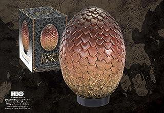 Noble Collection - Réplique Game of Thrones en résine de l'Oeuf de Drogon - 0849241002684