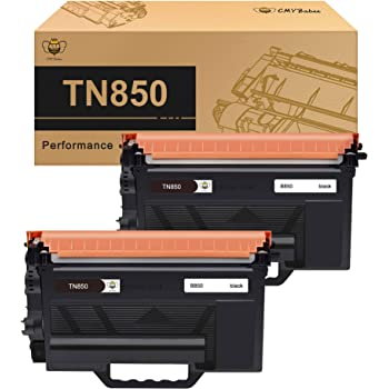 Equivalent to Brother TN-850 8000 Page Yield SuppliesMAX Compatible Replacement for 02038214 Black Toner Cartridge