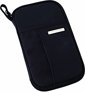 Luggage Zip Close Travel Wallet, Black, One Size