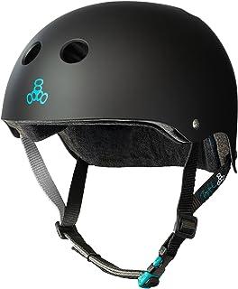 مدل امضای Tony Hawk سه گانه تایید شده کلاه ایمنی Sweatsaver برای اسکیت بوردینگ، BMX و غلتک اسکیت