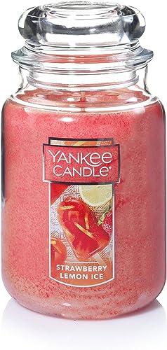 Yankee Candle Strawberry Lemon Ice Large Classic Jar Candle