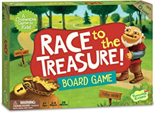 Peaceable Kingdom Race to the Treasure! Award Winning Beat the Ogre Cooperative Game for Kids