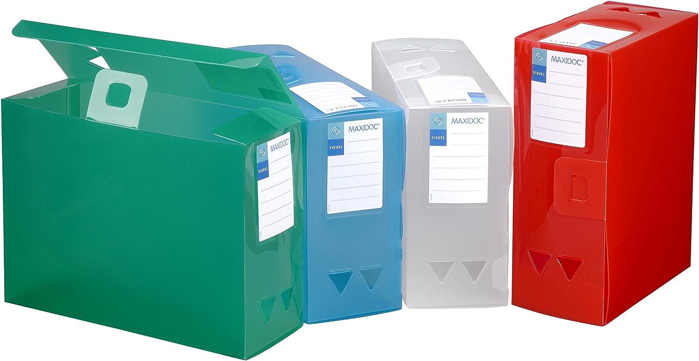 Viquel Maxi Docs PROPYGLASS, 4er Pack (4 Ranking Polypropylen Rücken Rücken Rücken von 120 mm Farben sortiert B075WJTYBC | Spielzeugwelt, glücklich und grenzenlos  c27f23