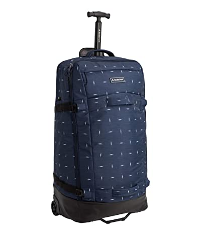 Burton Multipath Checked Travel Bag (Dress Blue Basket Ikat) Luggage