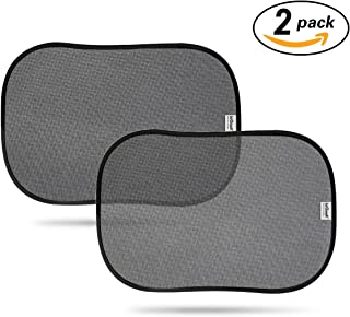 ieGeek Car Sun Shades Cover, Car Window Shade, UV Protection for Baby Children Kids Pet, Fit Most Cars, without Clings or Suction Cups, Privacy Protection Side Window Sunshade Window Curtain (48*30cm, 2 Pack)