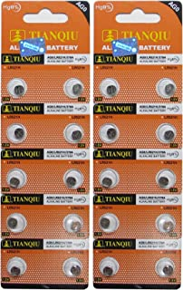 AG0 379A LR63 SR63 LR521 Button Cell Batteries [20-Pack]