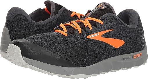 Black/Orange/Grey
