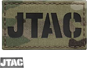 Multicam JTAC Joint Terminal Attack Controller Air Support FAC Infrared IR 3.5x2 Tactical Morale Touch Fastener Patch