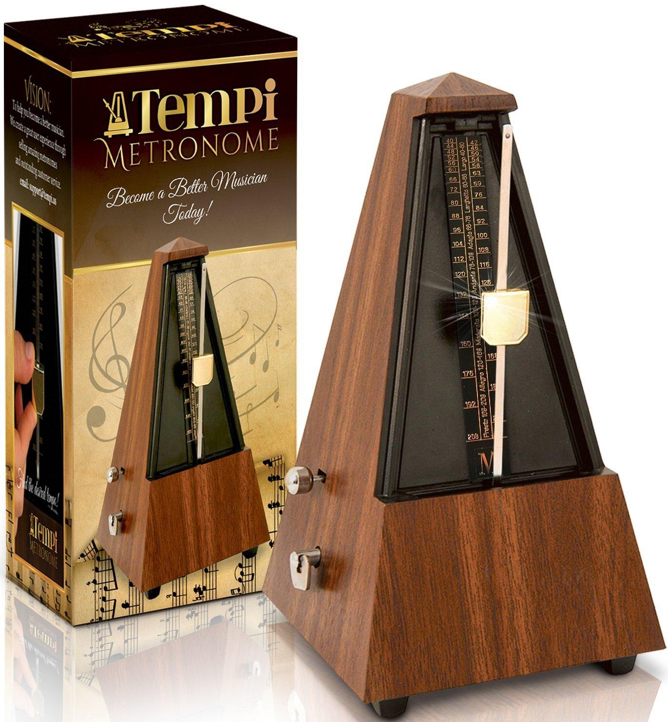Tempi Metronome Musicians Mahogany Warranty