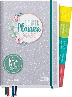 Lehrer-Planer 2020/2021 A5+ [Dotty] Hardcover Lehrerkalender Schuljahresplaner mit..