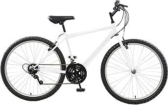Cycle Force Rigid Mountain Bike, 26 inch Wheels, 18 inch Frame, Men's Bike, Black, Blue, Red, White