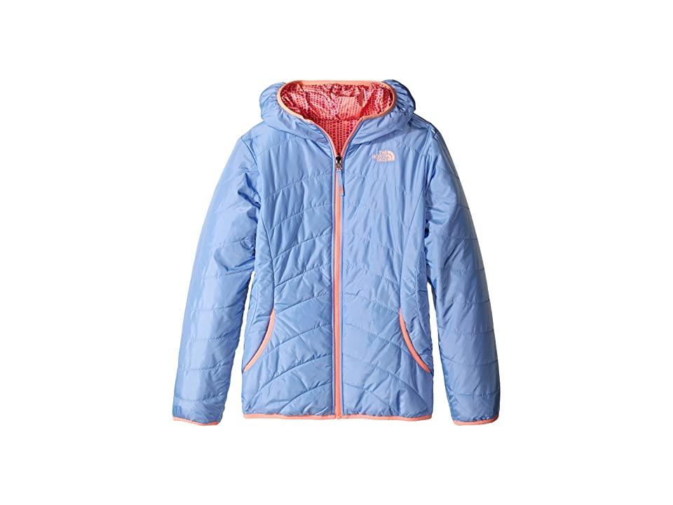 The North Face Kids Reversible Perrito Peak Jacket (Little Kids/Big Kids) (Collar Blue (Prior Season)) Girl