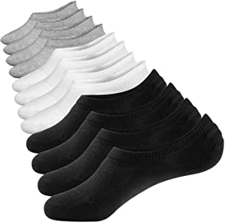 No Show Socks Summer Socks 6 Pairs Closemate Cotton Low Cut Loafer Casual Socks for Men & Women (Men Size: 4.5-11.5, Women Size: 5-12.5)