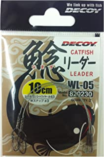 カツイチ(KATSUICHI)鯰リーダー WL-05 10cm