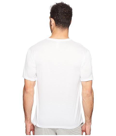 Camisa Manga Hanro Blanco Algodón Deportiva Corta qqwd1r